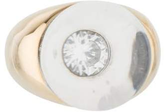 Mauboussin Diamond & Rock Crystal Ring