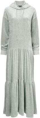 GOEN.J long hooded sweater dress