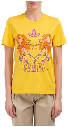 Alberta Ferretti Gemini Print T-Shirt