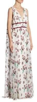 Zac Posen Trudey Floral Gown