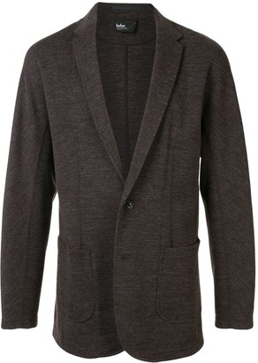 Kolor knitted deep V-neck blazer