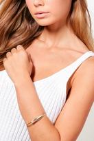 boohoo Feather Detail Arm Cuff gold