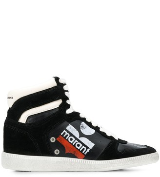 Isabel Marant Bulian high top sneakers