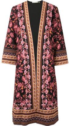 Alice + Olivia Floral-Print Robe