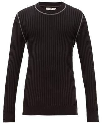 Eytys Incubus Wide Ribbed Sweater - Mens - Black