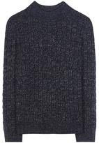 A.P.C. Shelley metallic wool-blend sweater