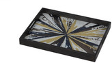 Notre Monde - Kaleidoscope Rectangular Glass Tray