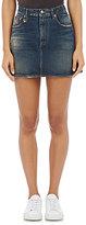 R 13 Women's High-Rise Miniskirt-BLUE