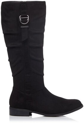 Head Over Heels Tobiias D-Ring Knee High Boots