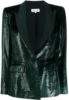 Patrizia Pepe textured tuxedo-style blazer