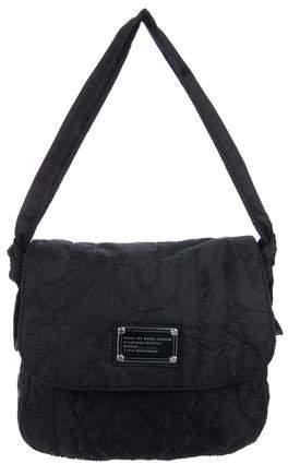 Marc by Marc Jacobs Nylon Embroidered Shoulder Bag