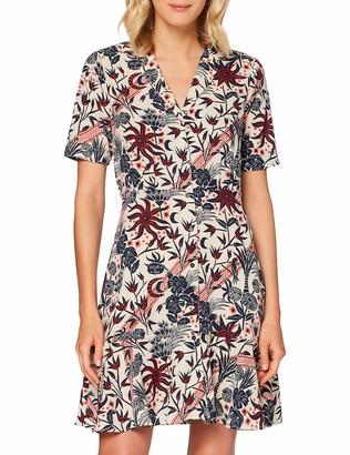 Scotch & Soda Women's Summer Shirt Dress in Allover Print Casual