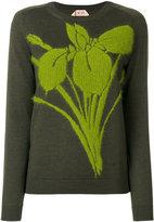 No.21 flower detail jumper