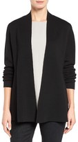 Eileen Fisher Women's Silk & Organic Cotton Cardigan
