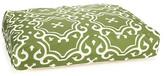 Medallion Dog Bed, Green/White