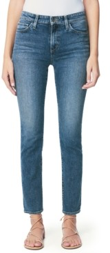 Joe's Jeans Lara Ripped-Hem Skinny Jeans