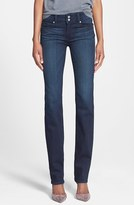 Paige Women's 'Transcend - Hidden Hills' High Rise Straight Leg Jeans