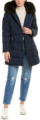 Vince Camuto Asymmetric Puffer Jacket