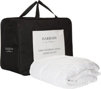 Harrods Single 100% Canadian Goose Down Duvet (9 Tog)