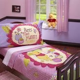 Disney winnie the pooh & friends 4-pc. yummy hunny bed set by crown crafts - toddler