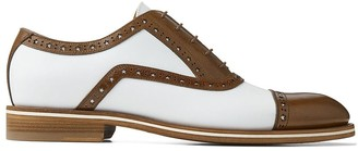 Jimmy Choo Falcon two-tone leather brogues