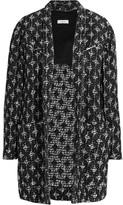 IRO Yana Cotton-blend Bouclé Coat - Black