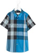 Burberry housecheck shortsleeved shirt