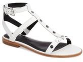 Rebecca Minkoff Women's Sandy Studded T-Strap Sandal