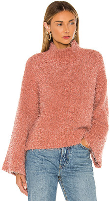 Cupcakes And Cashmere Danyon Mock Neck Pullover
