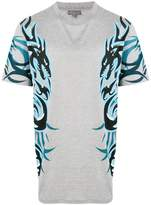 Lanvin dragon tribal printed T-shirt