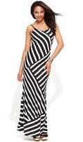 INC International Concepts Dress, Spaghetti-Strap Striped Maxi