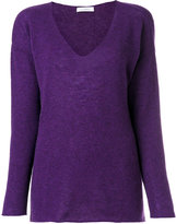 Cruciani V-neck jumper - women - Cashmere - 42