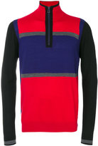 Paul Smith long sleeve zipped jumper