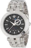 "Versace Men's 29G99D009 S099 ""V-Race"" Stainless Steel Watch"