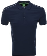 BOSS GREEN Paule Polo T Shirt Navy