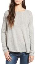 Velvet by Graham & Spencer Women's Stitch Yoke Sweater
