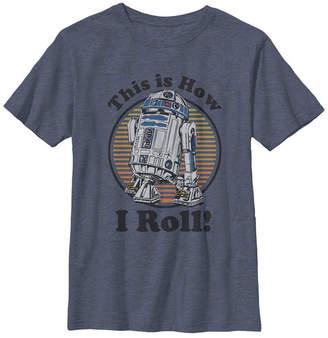 Fifth Sun Star Wars Big Boys This Is How I Roll Short Sleeve T-Shirt