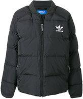 adidas zipped padded jacket