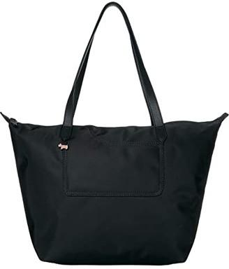 Radley London Pocket Essentials - Large Zip Top Tote (Black) Handbags