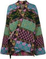 Etro Reversible patchwork jacket
