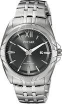 Pulsar Men's PH9083 Dress Analog Display Japanese Quartz Silver Watch