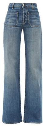 Nili Lotan Florence High-rise Flared Jeans - Denim