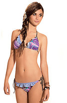 "Vix Swimwear Sofia By Vix ""Dulce"" Ruffle Triangle Top & Ruffle Tie-Side Bottom"