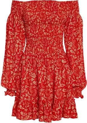 Cool Change Coolchange Stevie Off-The-Shoulder Mini Dress
