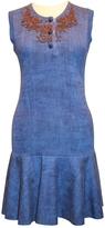 Louis Vuitton Blue Cotton Dress
