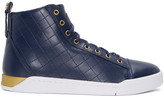 Diesel Blue Diamond High-Top Sneakers