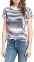 Stateside Stripe Linen Blend Boy Tee