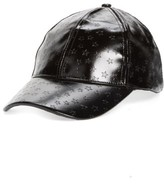 BP Women's Star Embossed Baseball Cap - Black