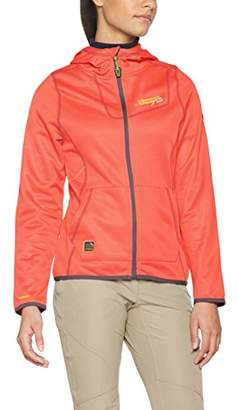 Geographical Norway Women's TABOULE Lady Utility Jacket, Orange Coral, XX-Large