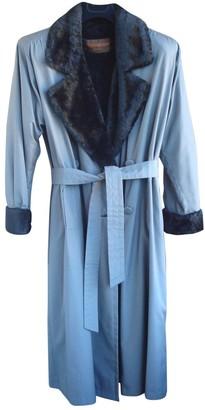 Saint Laurent Grey Coat for Women Vintage